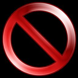 Sign Quit Terminate Exit Error Close Delete Cancel Aeon 64px Icon Gallery