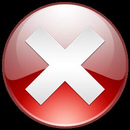 Quit Cancel Delete Sign Close Terminate Error Exit Aeon 16px Icon Gallery