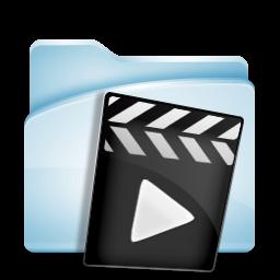 Video Movie Film Record Audio Icon Sky Folder 256px Icon Gallery