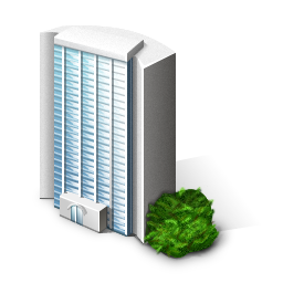 Office Building Company / Free Business Desktop Icons / 256px / Icon