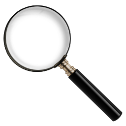 zoom tool icon. find zoom magnify search tool icon