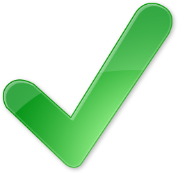 Confirmed Yes Check Ok Accept Positiv Green Must Have 24px Icon Gallery