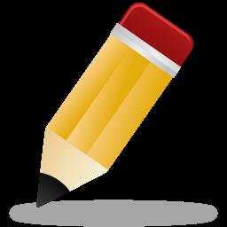 Pen Pencil Write Edit Pretty Office 32px Icon Gallery