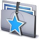 Favorites folder star