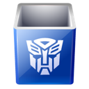 Transformers decepticon bin empty recycle