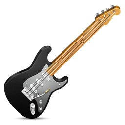 Electric guitar music rock guitar