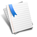 Bookmark note paper file