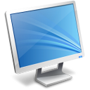 Computer monitor screen