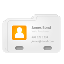 Contact vcard james bond