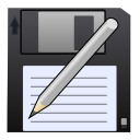 Save pen disk save as write