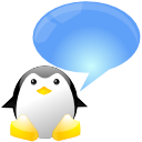 Tux penguin chat