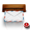 Email wooden mail