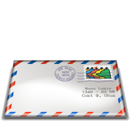 Email post envelope