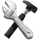 Build hammer options tools screwdriver settings code