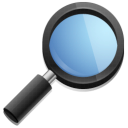 Find magnifying glass search