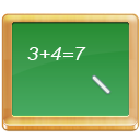 Tutorial school calculate black board math