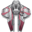 Anakin star wars starfighter