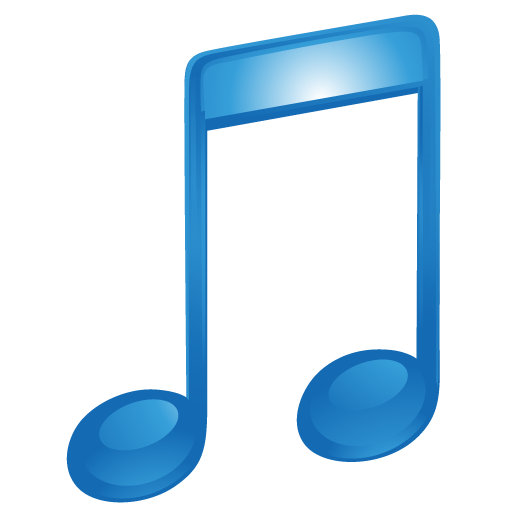 Itunes sound blue music