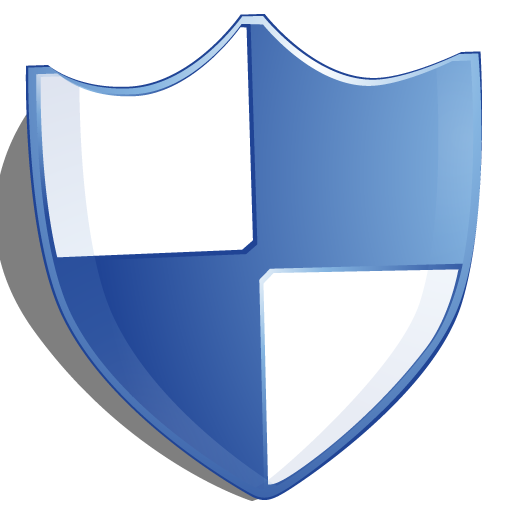 Shield protection blue