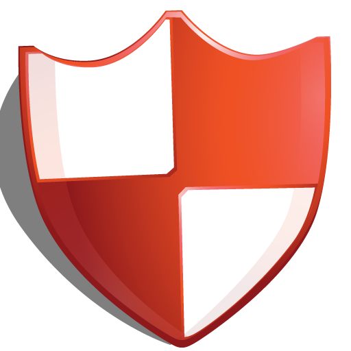Red protection shield