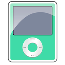 Ipod 3g nano foam sea