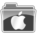 Logo folder apple