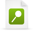 Paper document file green g14989