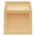 Wood inventory box