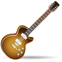 Rock guitar instrument music