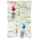 Directions map navigation gps calendar location