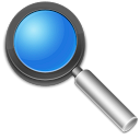 Search find zoom magnifying glass