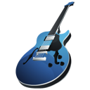 Rock garageband guitar jazz music instrument