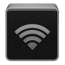Wireless grey airport wifi