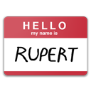 My name is rupert hello fight club