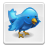 Blue bird file button twitter