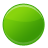 Circle green go ball