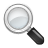 Magnifying glass zoom find search