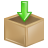 Box inventory download arrow