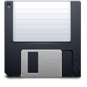 Backup disk save floppy