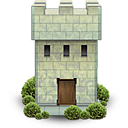 Castle tower war fortress