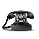 Rotary telephone telecommunication dial phone