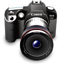 Digital camera dslr camera canon photography