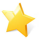 Star toolbar rate bookmark rating