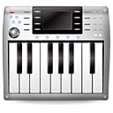 Music midi synth instrument keyboard
