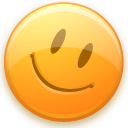 Emoticon good smiley happy