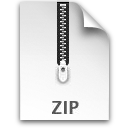 Zip file document compressed