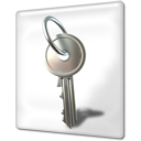 Key locked encrypted file
