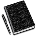 Diary notebook book