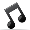 Music sound tone itunes note