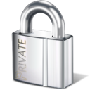 Lock private safety security padlock safe